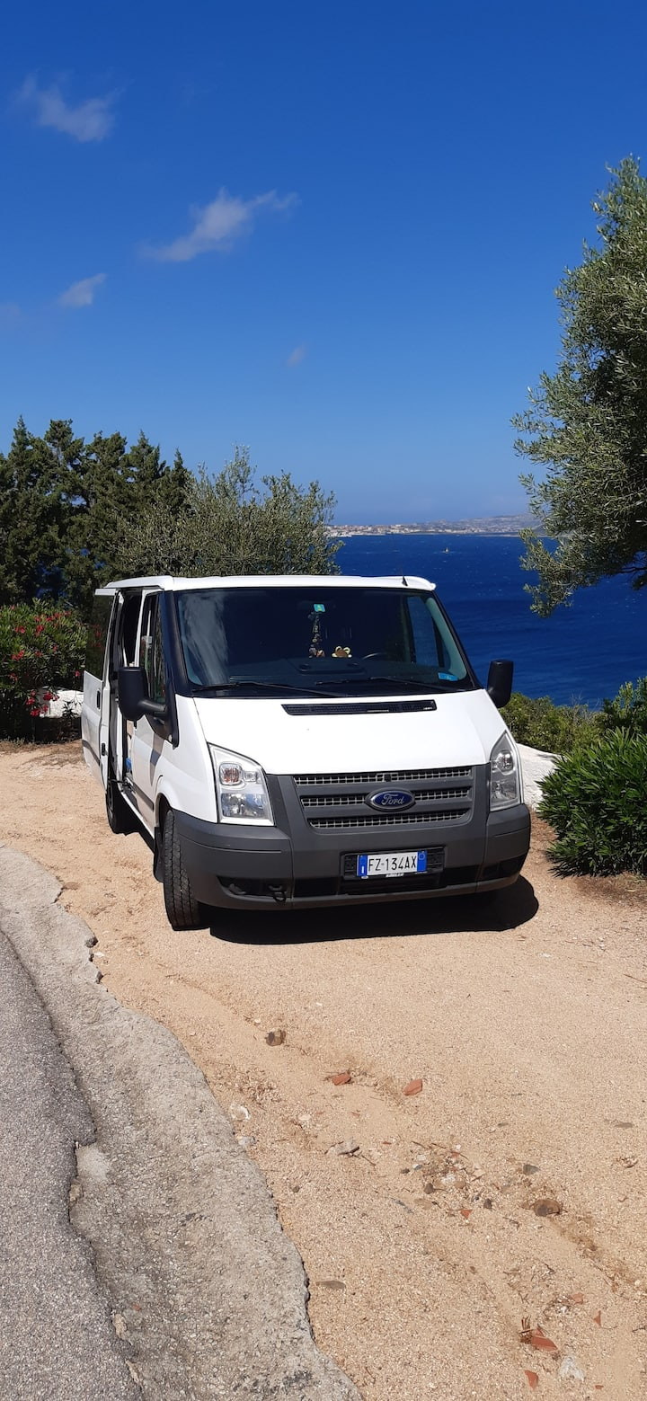 Van 2 Sleep and Drive Palau/Olbia Nord Sardegna!!!