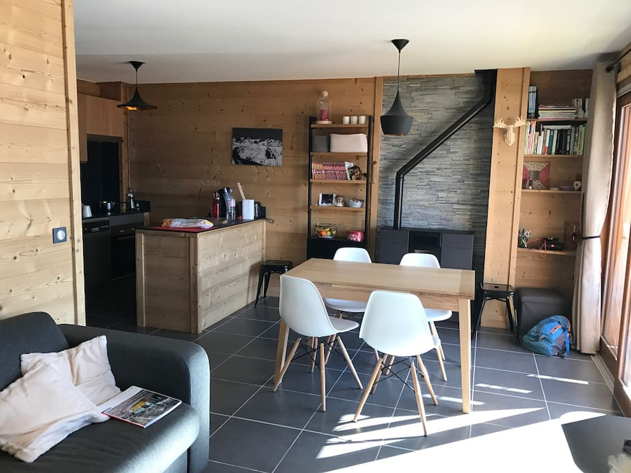 Appartement 6 personnes albiez montrond village - Office tourisme albiez montrond 73300 ...