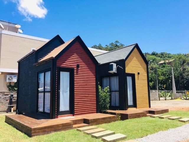 Linda Tiny House a 6 km de Jurerê Internacional #