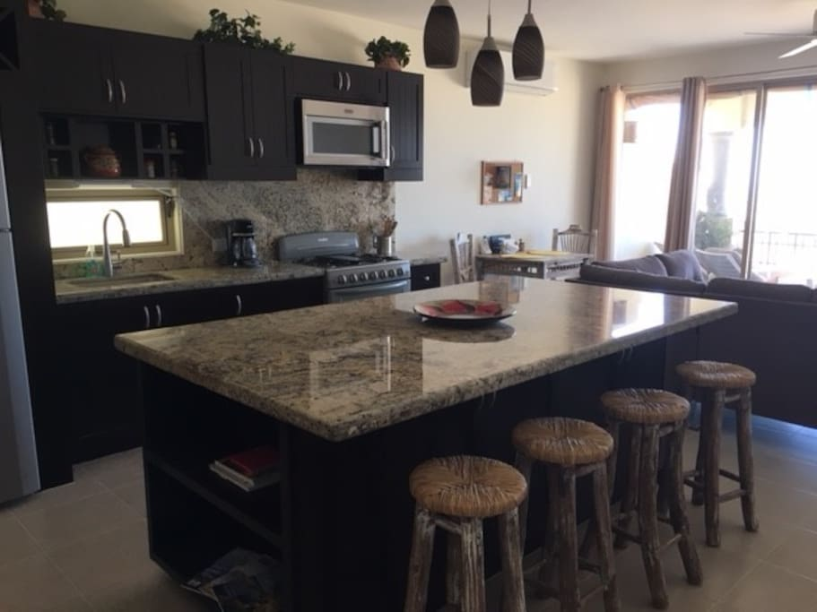 New kitchen island