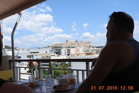 Athens Acropolis Panoramic Apt 60 sqm - Athens  - Appartement