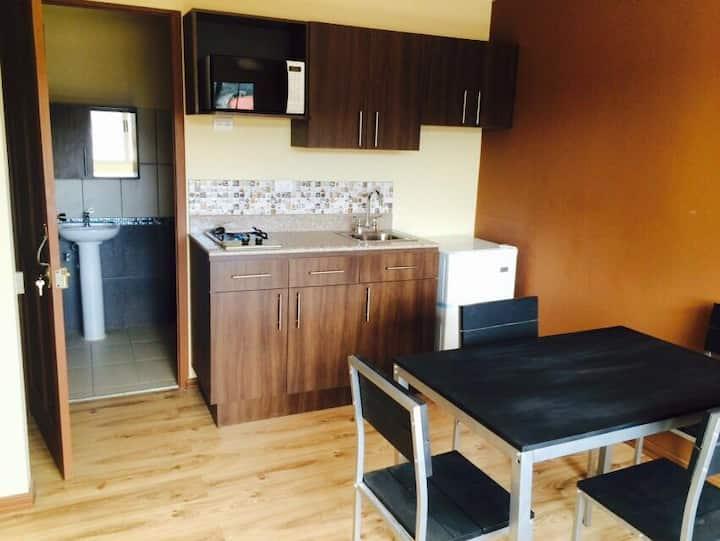 Apartamento tipo estudio en Curridabat