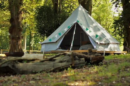 Private Glamping Tent in heart of the New Forest