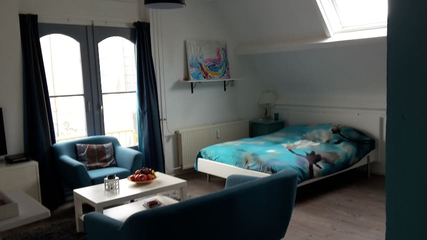 Studio near the port in Hoorn centr - Hoorn - Apartamento
