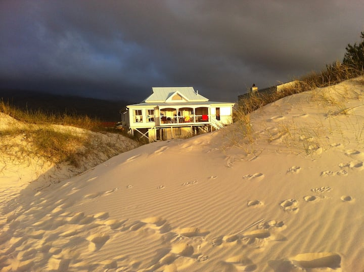 Beach house on the Dunes