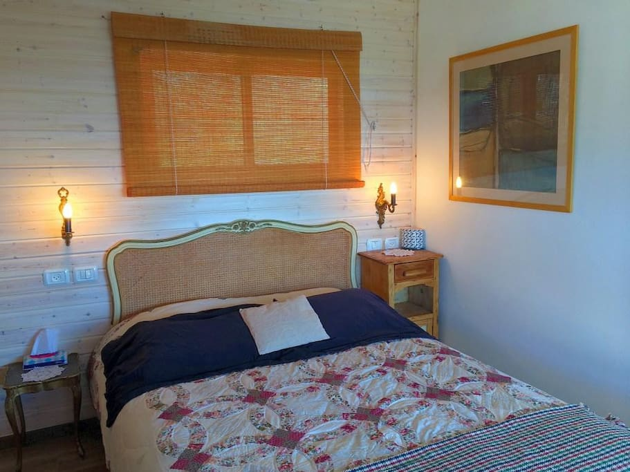 Romantic bed area
