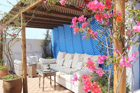 Stylish house + sunny private roof. - Marrakesh - Apartmen