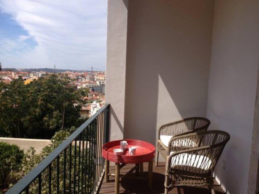 The amazing terrace
