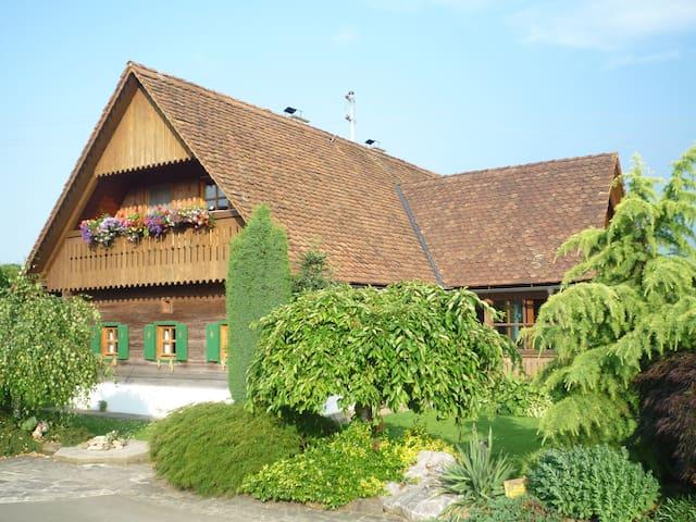 Idyllische Ferienwohnung  - Vochera an der Laßnitz - Apartament
