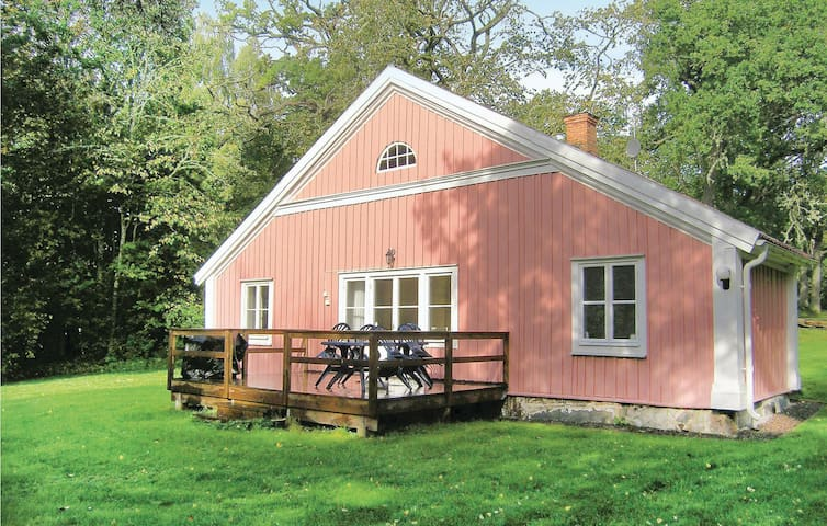 Holiday cottage with 2 bedrooms on 92m² in Braås