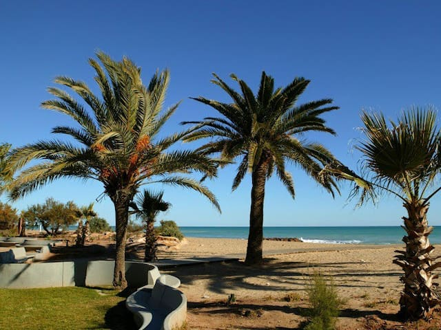 Beach apartment:WIFI-POOL-3Bedrooms-parking - Moncofa - Leilighet