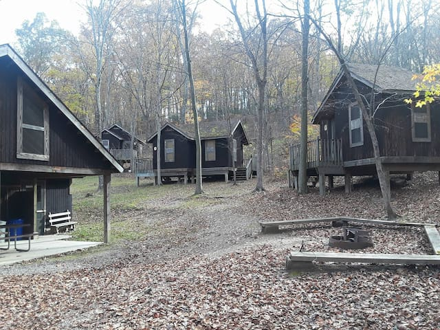 Camp Golden Pond - Rustic Cabins - Unit II