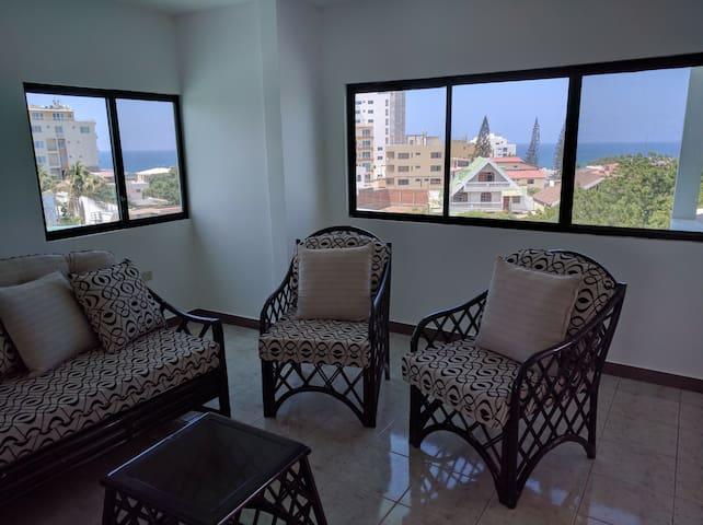 Apartamento con Vista Fantástica - Manta - Flat
