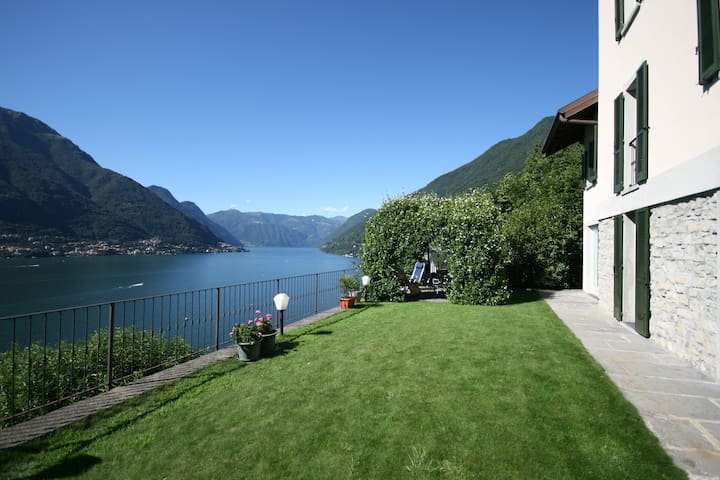 Lake House -View & Garden Lake Como - Faggeto Lario - Lägenhet