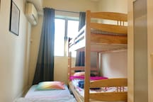 Second Bedroom with Double Decker and Underbed