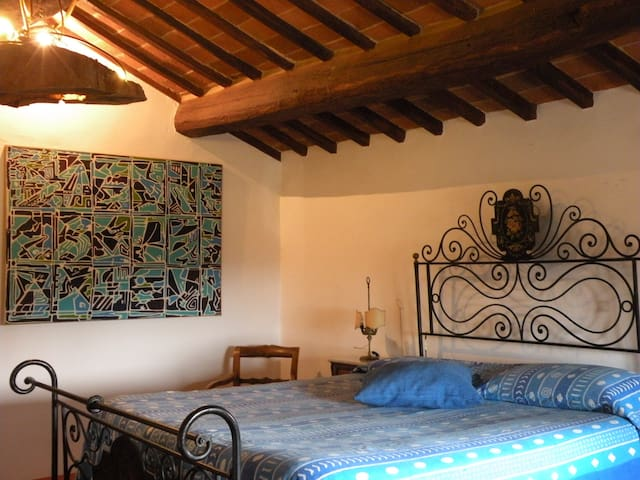Romantic room&kitchen in Cortona - Cortona  - Casa