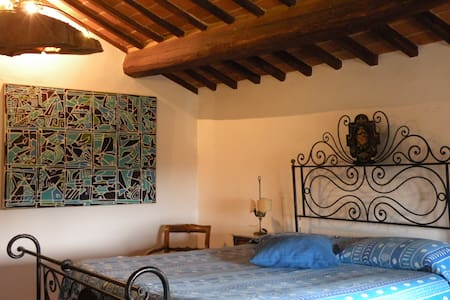 Romantic room&kitchen in Cortona - Cortona  - Talo