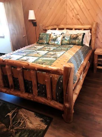 Upstairs Bedroom 4 with Queen Bed