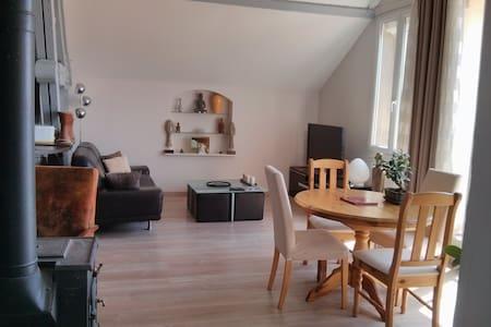 Loft calme 70m² et terrasse fleurie - Perpignan