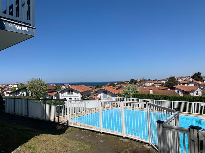 Appartement Proche plages avec piscine Guéthary