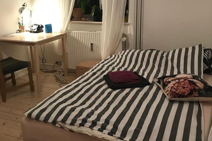 Cozy room at Nørrebro Rundell , GREAT LOCATION