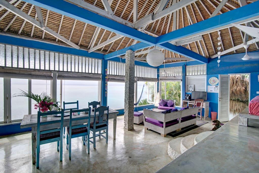gem tliches strandhaus in bingin bali h user zur miete. Black Bedroom Furniture Sets. Home Design Ideas