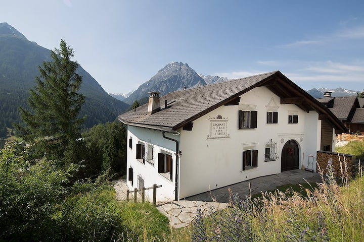 Traumwohnung in Scuol