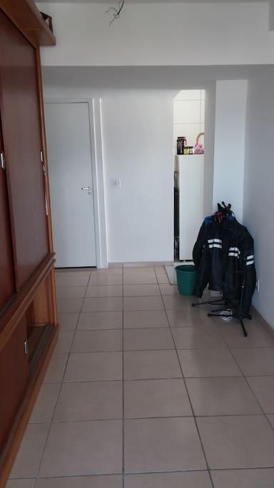 Entrance to apt
