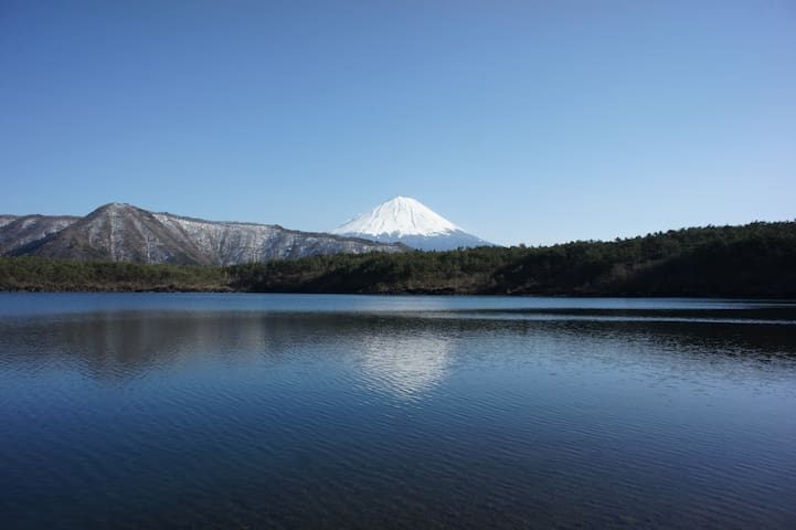 Mount Fuji Nature House,Trekking Base - Narusawa - Haus