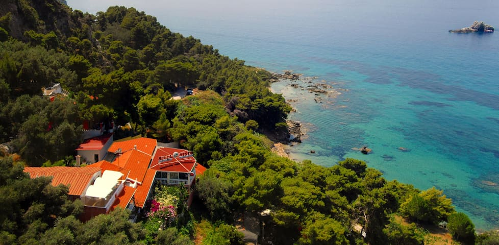Bella Vista Corfu - Sunset Apartments in Pelekas - Pelekas - B&B/民宿/ペンション