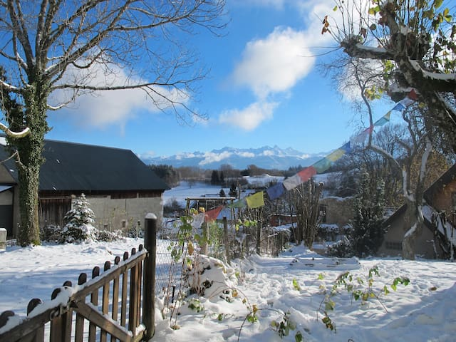 Gîte chaleureux avec jardin - Saint-Hilaire - Lakás