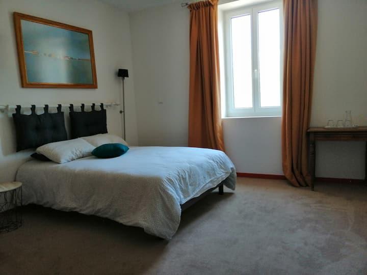 Le cèdre bleu : chambre Françoise