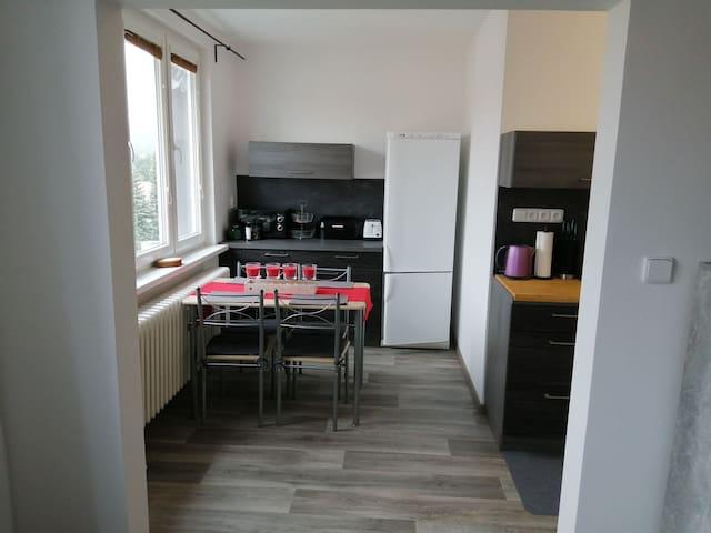 Apartmán v obci Kovářská nedaleko Klínovec