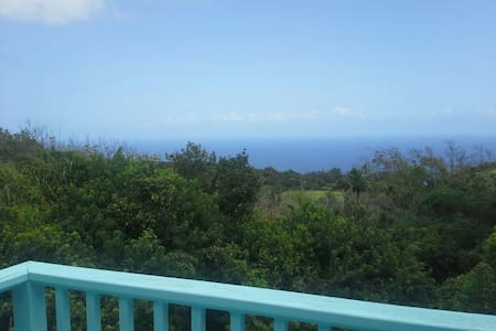 Luana Ola Green Cottage, Ocean View - Honokaa