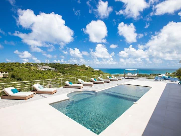 *20% off until October 30th* OCEAN VIEW 7 en-suite bedrooms Villa