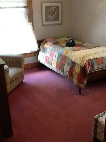 """Large Victorian Home """"Games Room"""" - single bed"""