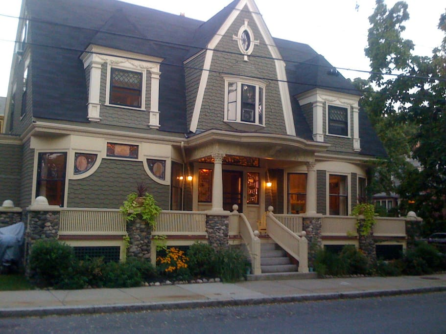 One of Somerville's finest homes located between Harvard and Tufts. On street parking available.