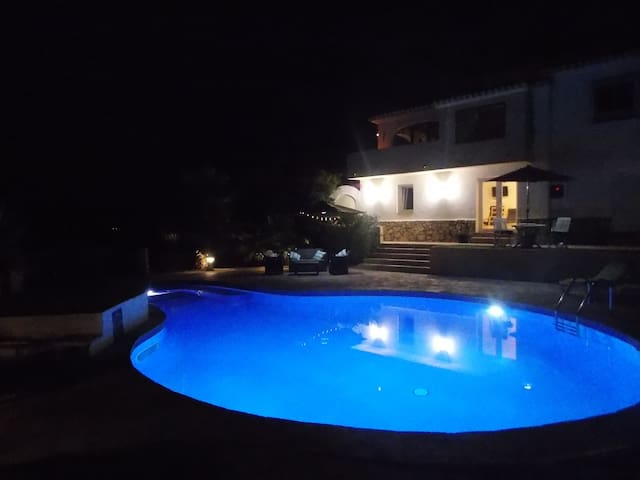 Lovely Villa Apartment with private pool and views