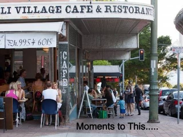 Lifestyle - local village with lovely cafes & restaurants