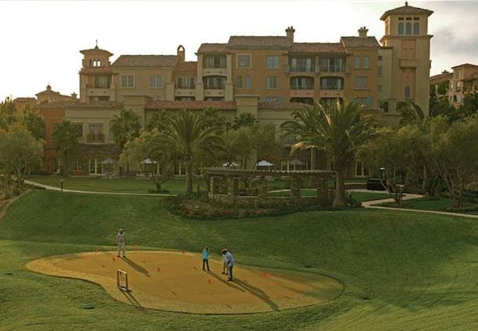 Near golf course