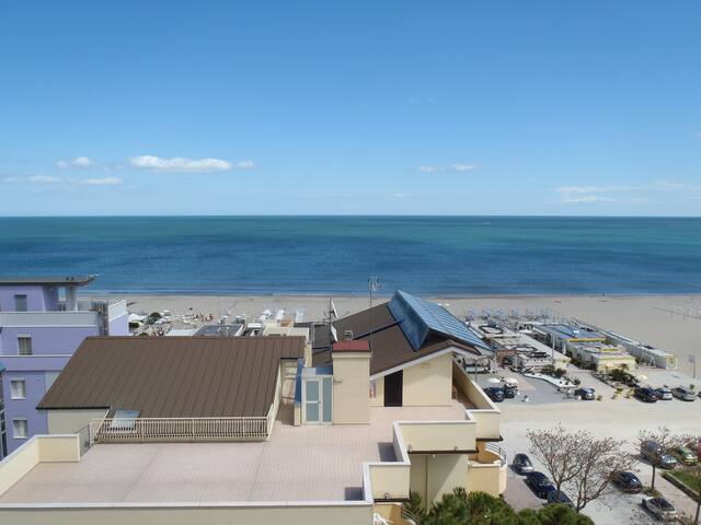 Central apartment 60 mq sea-view - Milano Marittima - Apartment
