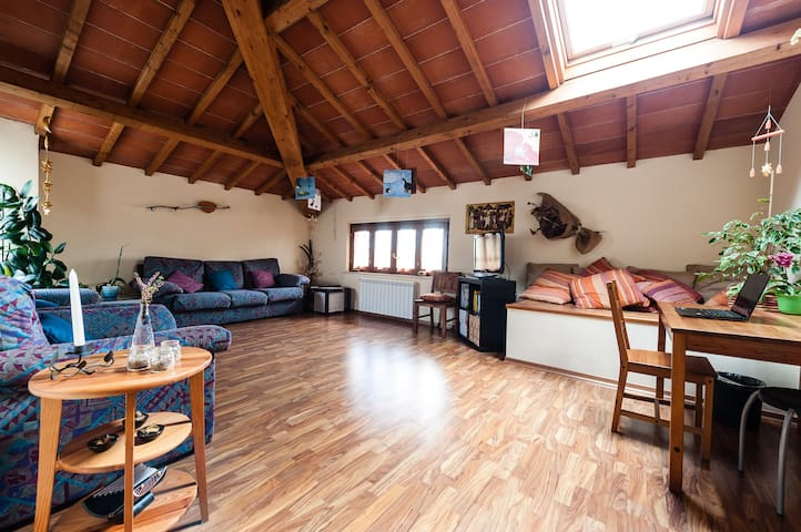 Private room in relaxing apartment! - Cascina - Apartamento