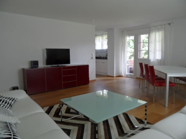 Highly modern three-bedroom flat - Samedan - Apartment