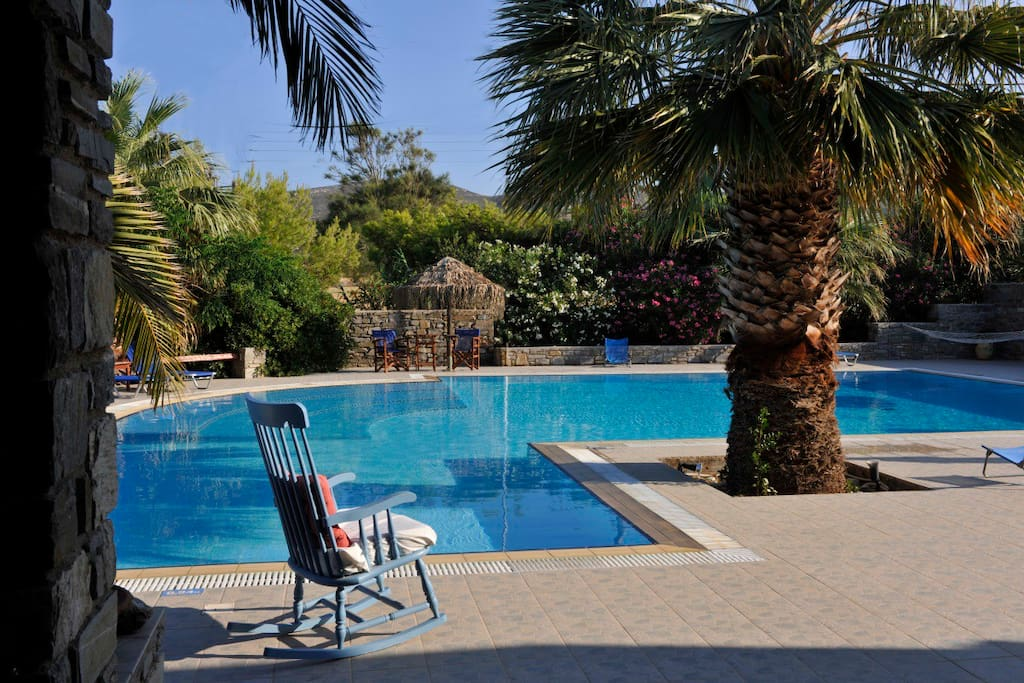 Garden View Studio Swimming Pool Apartments For Rent In Greece