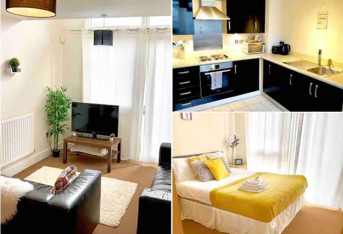 Parkside Birmingham City Centre Private Apartment