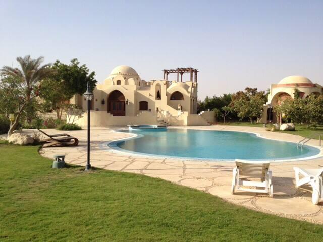 Nubian Guesthouse with Pool Cairo - Kairó - Vendégház
