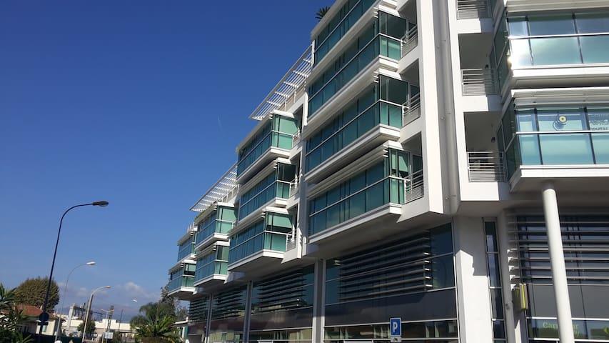 Grand studio centre ville proches mer et commerces - Cagnes-sur-Mer - Departamento