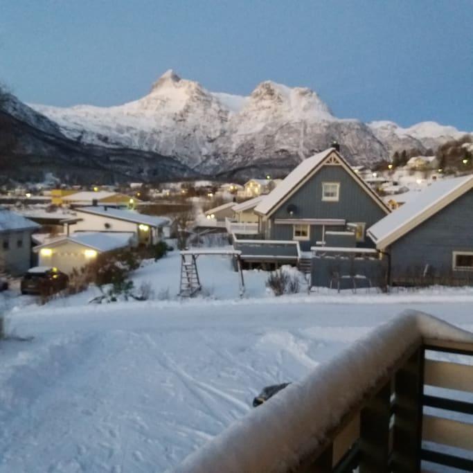 Utsikt fra boligen