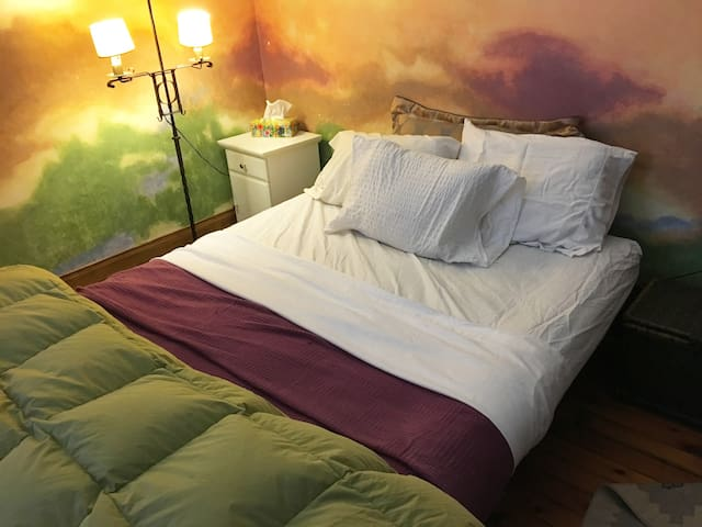 Enchanting Home, Queen size bed Musuems, Midtown,