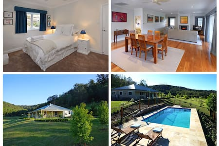 Luxury Hunter Valley house and pool - Wollombi - บ้าน
